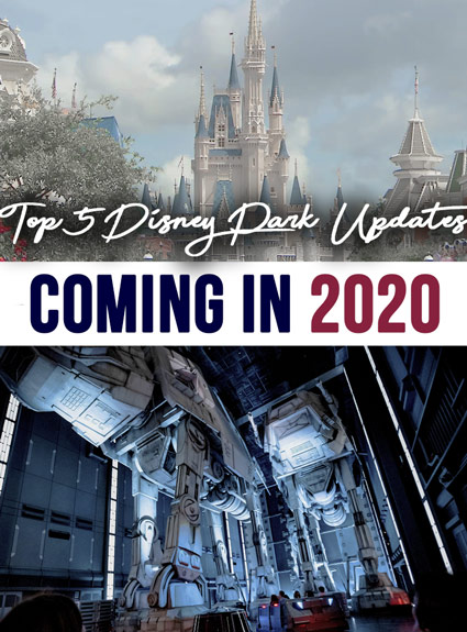 Top Park Updates Coming to Disney in 2020!