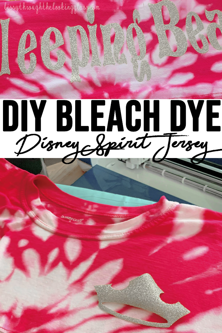DIY Disney Spirit Jersey