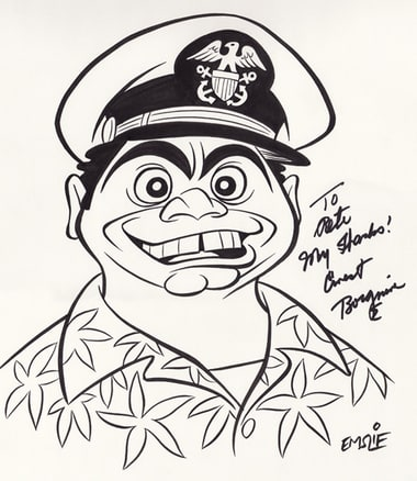 Favorite Pete Emslie Caricatures #4