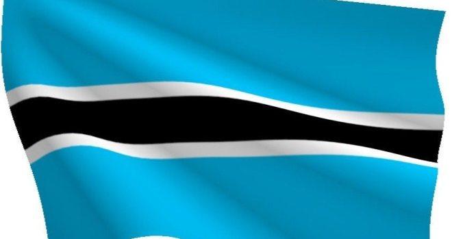 botswana national flag