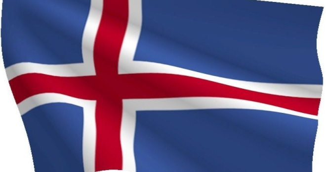 iceland national flag