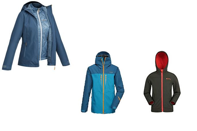 la mejor chaqueta de trekking