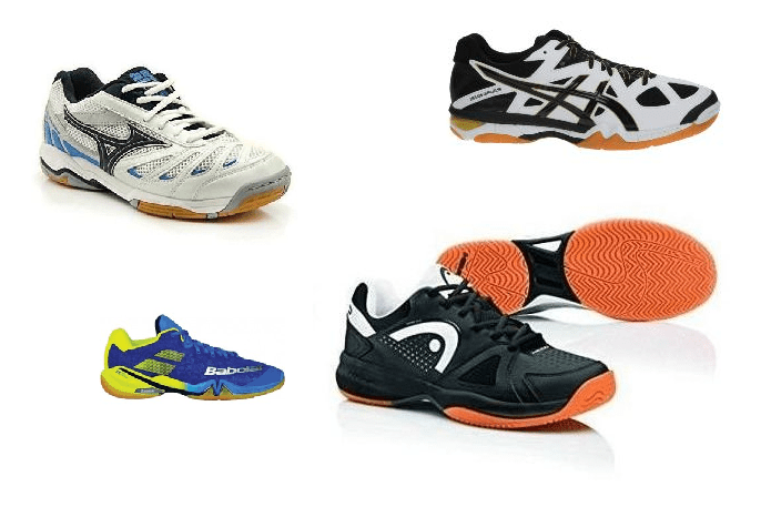 Las mejores zapatillas de squash