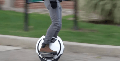 Aprender a usar monociclo eléctrico