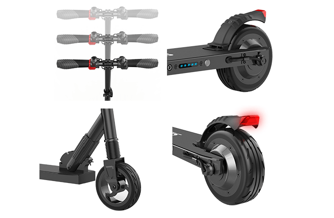 Fotos patinete Megawheels S1