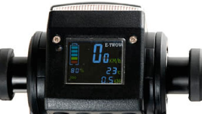 mandos del patinete eléctrico E-Twow Booster V