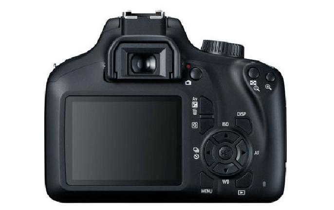 Visor de la cámara Canon EOS 4000D