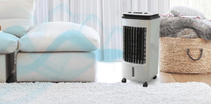 Ventajas del climatizador portátil Newteck Fresh Essence