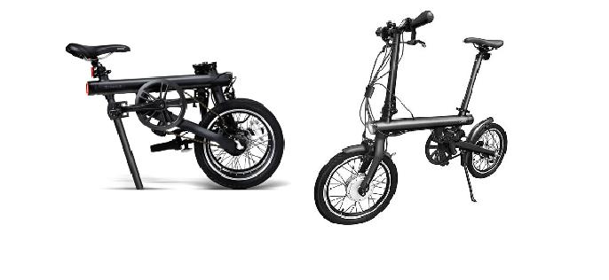 Características de la bicicleta eléctrica Xiaomi Qicycle