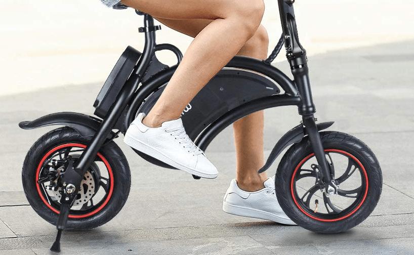 Tamaño de la bicicleta eléctrica plegable Windgoo