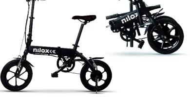 Valoracion bicicleta eléctrica plegable Nilox X2 Plus