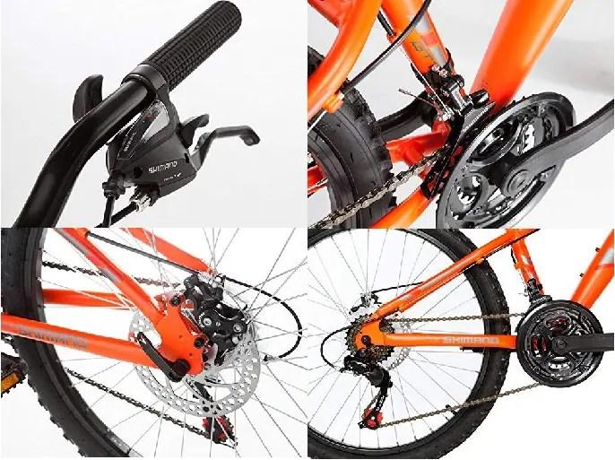evaluación de la bicicleta Moma Bikes GTT20