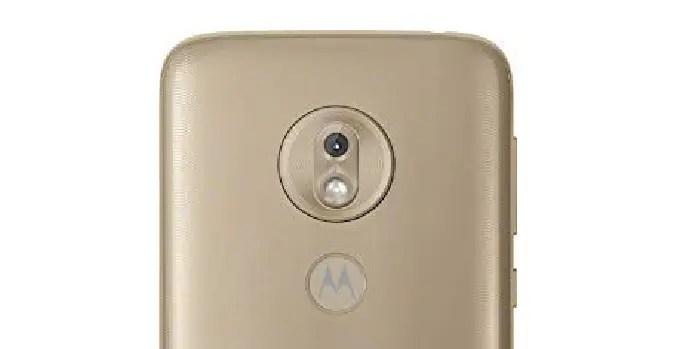 Cámara del Motorola Moto G7 Play