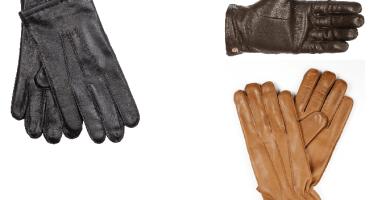 Comprar guantes de piel de hombre
