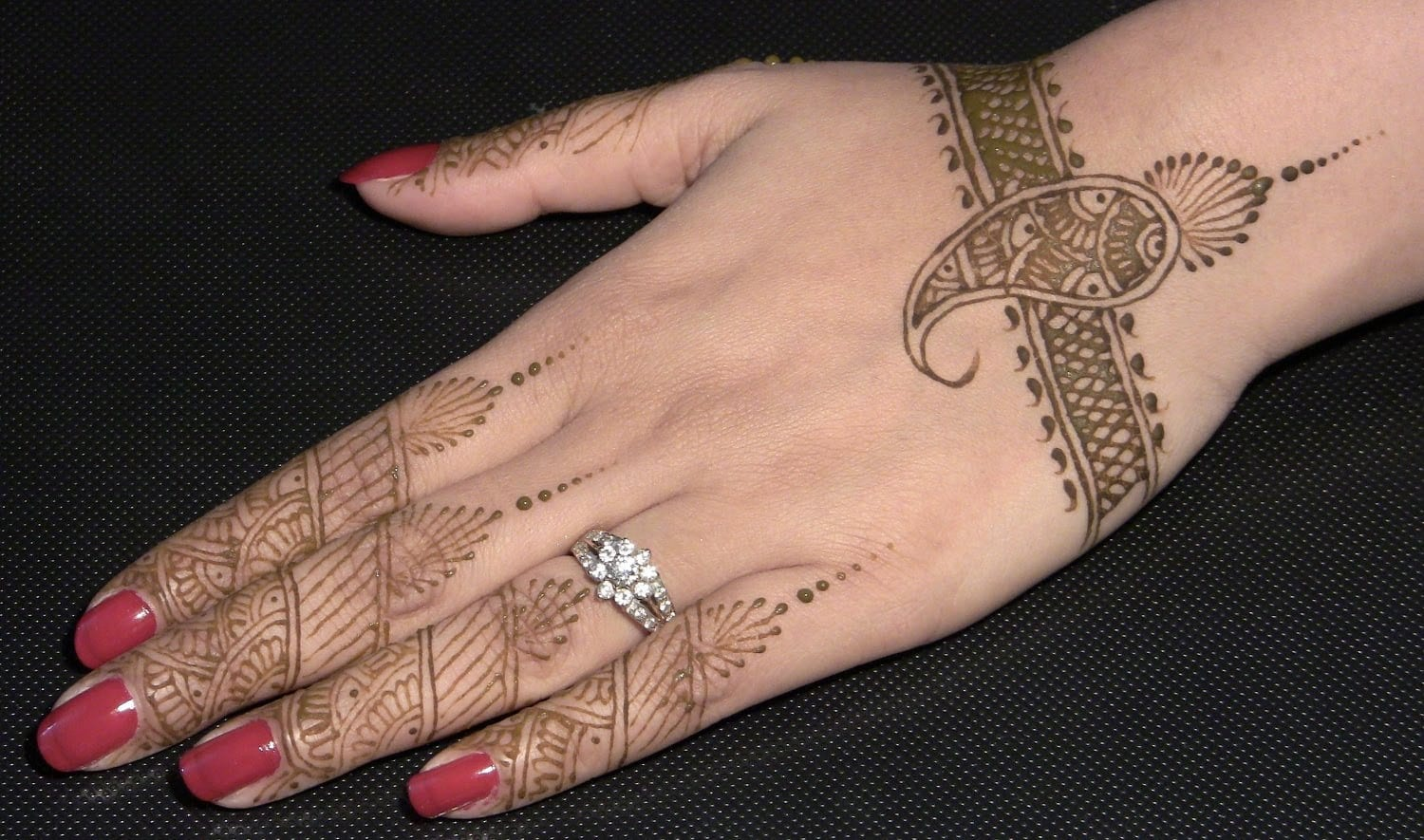 Mehndi Designs Arabic Simple And Easy Back Hand