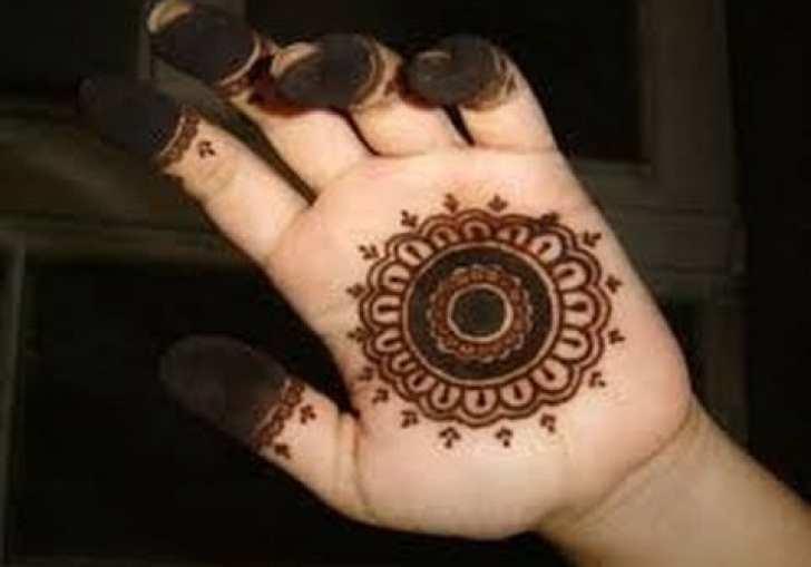 Simple Mehndi Hand Designs