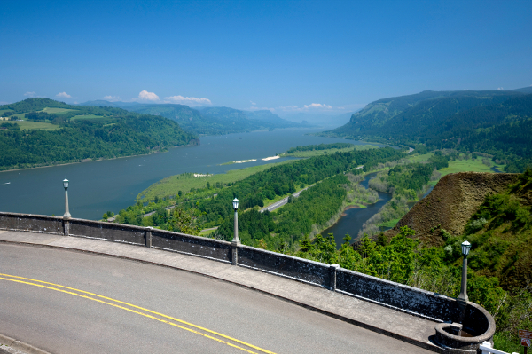 Columbia River Highway USA