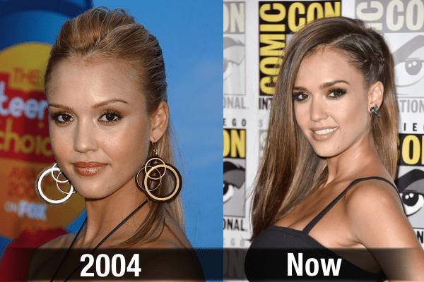 Jessica Alba Never Aging