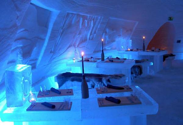 Snow Village Ice Bar