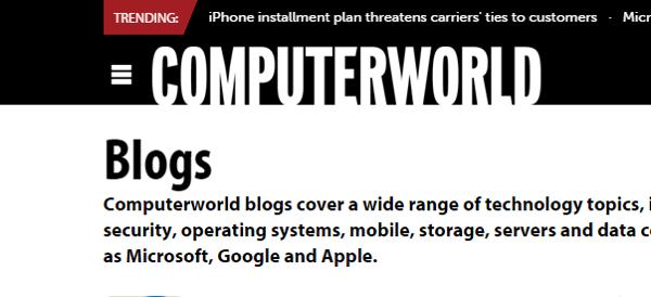 Computerworld Tech Blog