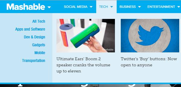 Mashable Tech Blog