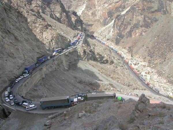 Kabul Jalalabad Road
