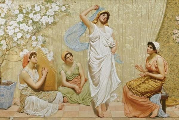 Beautiful Dance of Salome