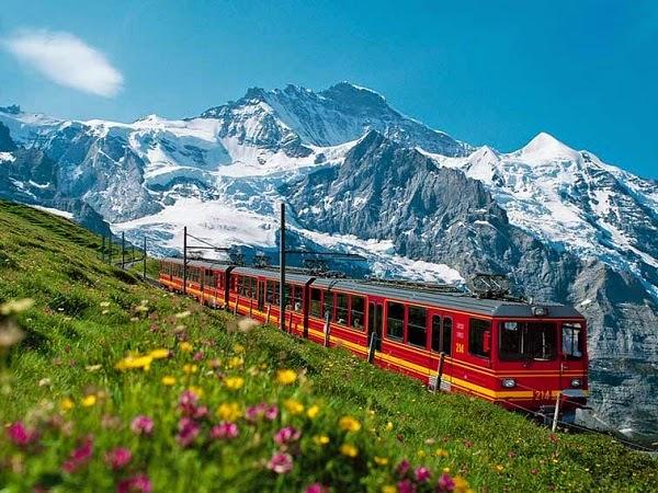 Interlaken Swiss Alps Skydiving