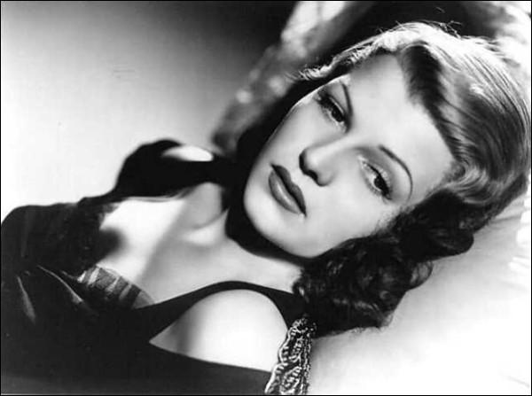 Rita Hayworth Hottest Women in Hollywood