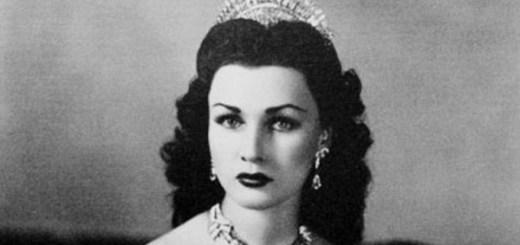 Fawzia Fuad of Egypt