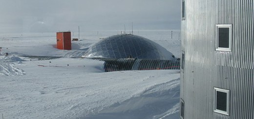 Amundsen-Scott South Pole Station is the 4th Coldest Place in the World
