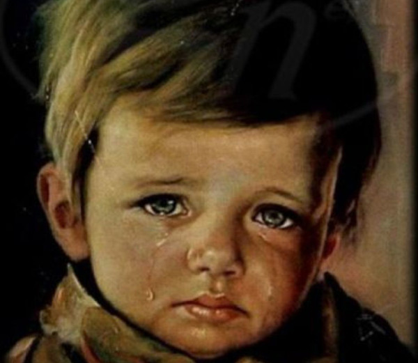 The Cursed Painting of a Crying Boy