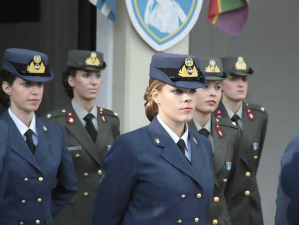 Greece Hot Female Armed Forces