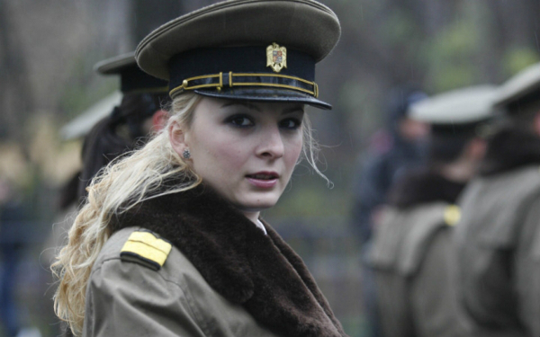 Romanian Hot Female Armed Forces