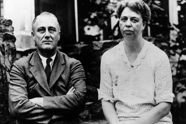 Franklin Delano Roosevelt and Eleanor Roosevelt