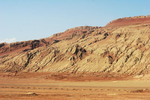 Flaming Mountains in China