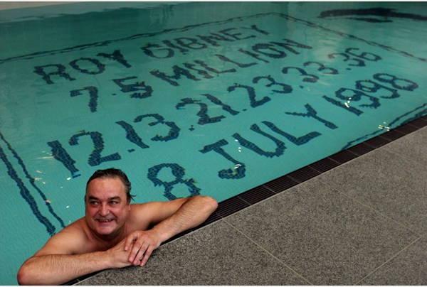 Roy Gibney Lottery Winner