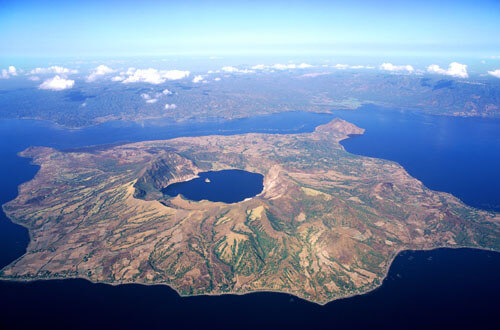 The Unique Taal Lake and Island