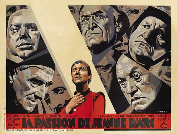 Passion of Joan of Arc Carl Dreyer