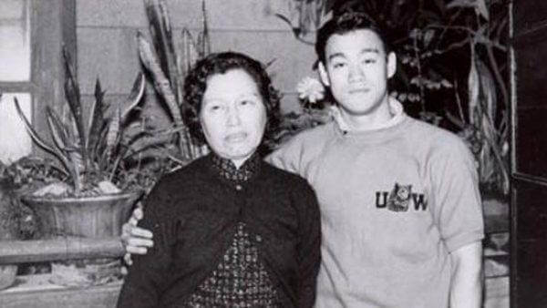 Bruce Lee with His German Mother