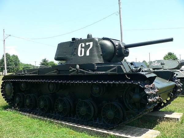 Soviet KV-1 Tank
