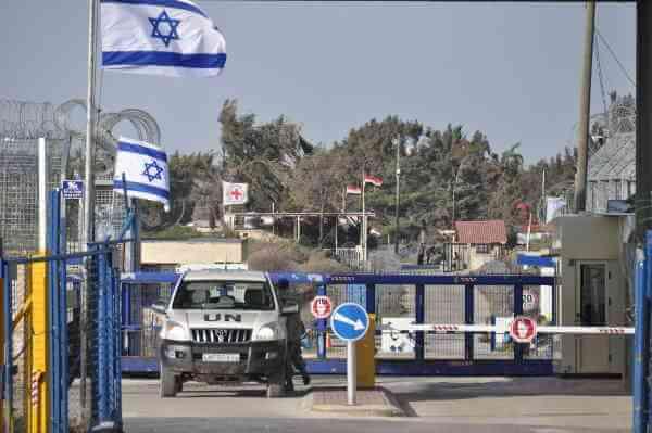 Israel Syria Border