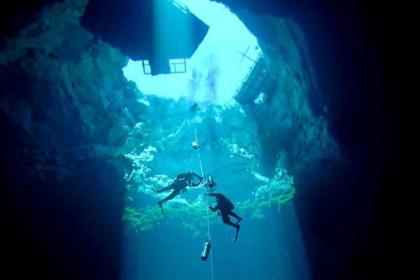 The Shaft Sinkhole in Australia
