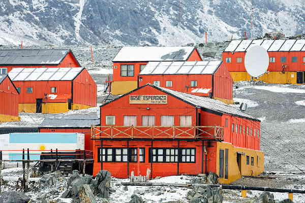 No Permanent Settlement in Antarctica