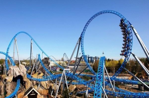 Europa Park roller Coaster