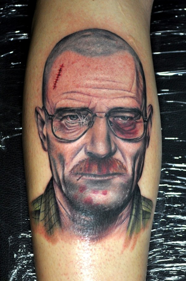 Heisenberg Walter White Tattoo