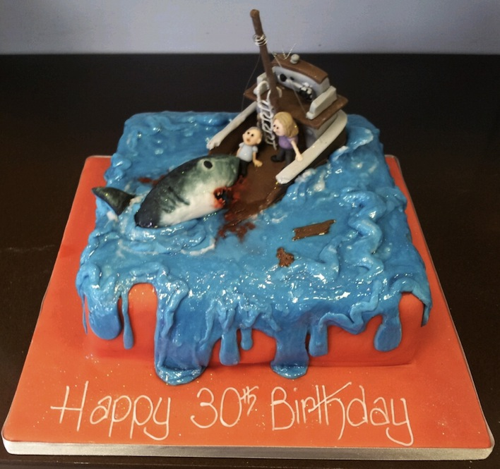 20 Killer Shark Cakes To Celebrate Shark Week