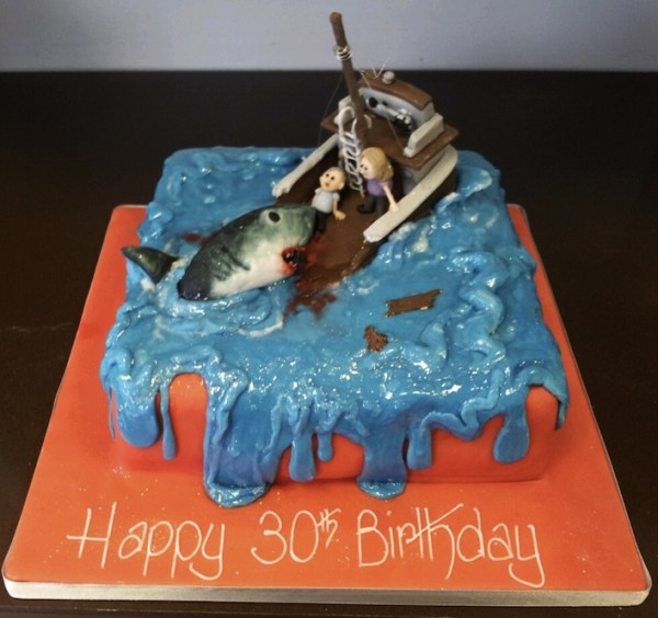 20 Killer Shark Cakes, jaws