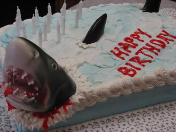 Killer Shark Cake