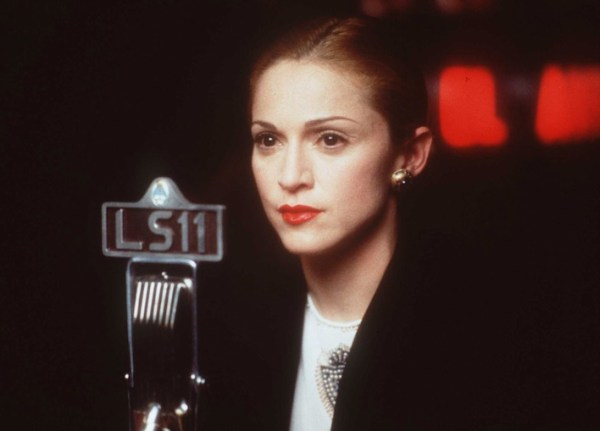 Madonna in Evita, musicians turned actor